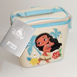 Disney Store Moana School Lunch Tote Box Bag NWT